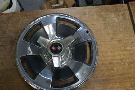 1966 Hubcap W/Spinner,Used OEM
